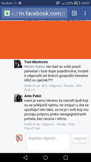 Toni Meštrović - Ante Pekić