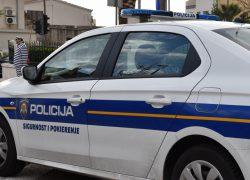 Obavijest o zatvaranju djela Vukovarske ulice