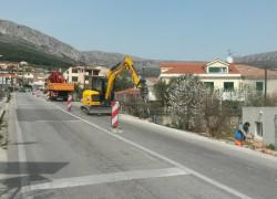 Radovi u ulici kneza Trpimira