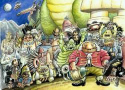Promocija strip albuma Vinka Barića – Dogodovštine Baroknog Čovjeka