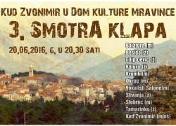 3. SMOTRA KLAPA – Mravince 2016.