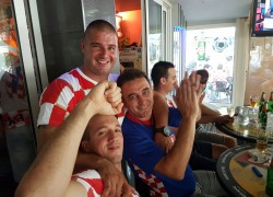 FOTOGALERIJA: Solin za vrijeme utakmice protiv Češke