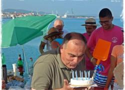Blaženko Boban proslavio rođendan na radnoj akciji Mramorna