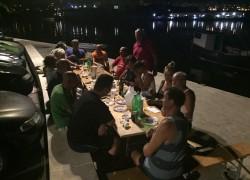 Proslava pobjede na vranjičkoj rivi