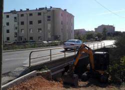 Uređuje se podhodnik u ulici don Frane Bulića