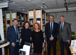 Radni posjet ministrice kulture dr.sc. Nine Obuljen Koržinek u Gradu Solinu