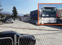 ZAMALO TRAGEDIJA | Kamion urušio energetski kabel s transportne trake u Sućurcu