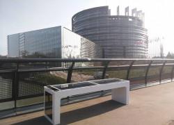 Pametna klupa u Strasbourgu