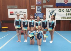 GIMNASTIKA: GK Salto osvojio ekipno prvo mjesto
