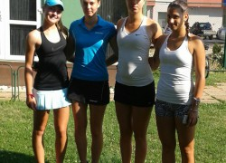 Tenisačice Dalmacijacementa na finalnom turniru Prvenstva Hrvatske