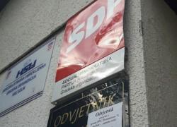 IZBORNA ŠUTNJA: Vandalizam na prostorijama SDP-a Solin