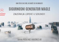 NOVO NA TRŽIŠTU!!! SIGURNOSNI GENERATOR MAGLE