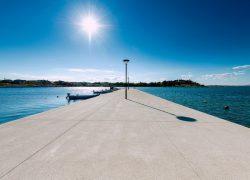 Nove šetnice u Ninu i Zadru napravljene dekorativnim betonom CEMEX-a