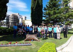 Polaganjem vijenaca Udruga dragovoljaca veterana Domovinskog rata Dalmacijacement obilježila 20. godišnjicu osnutka