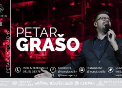 Petar GraÅ¡o – Veliki spektakl u Piccadilly Clubu