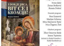 """Predstavljanje knjige """"Dok je srca, bit će i Kroacije!"""" Renate Dobrić u Solinu"""