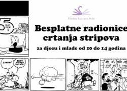 Besplatne radionice crtanja stripova u Gradskoj knjižnici Solin