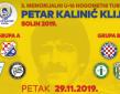 """3.MEMORIJALNI NOGOMETNI TURNIR U-16 """"PETAR KALINIĆ KLIJA"""" SOLIN 2019. : 3. IZDANJE KLIJINOG MEMORIJALA UZ 4 EKIPE IZ INOZEMSTVA"""