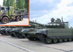 """Zgaziti napadača: Elitna Kantemirovska divizija dobiva """"mlazne"""" tenkove T-80BVM"""
