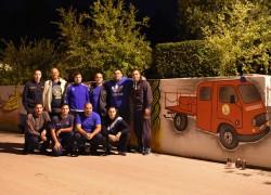 Vatrogasno vozilo dobilo svoj kutak na poznatom muralu DVD Solin