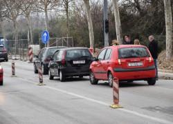 Lančani sudar u ulici Stjepana Radića