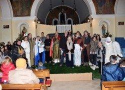 FOTO/VIDEO | TRI MUDRACA: Božićna priredba župljana Sv. Martina u Vranjicu