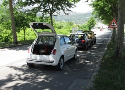 Lančani sudar: Sudarila su se tri automobila u ulici Stjepana Radića