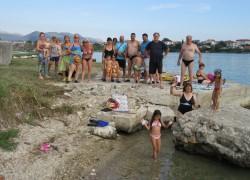 Otvorena sezona kupanja na Mramornoj