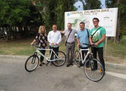 Otvorena prva biciklistička staza u Solinu