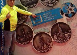 ATLETIKA (Maraton): Solinjanin Jakov Teklić nakon istrčanog maratona u Londonu