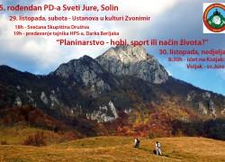 Peti rođendan PD-a Sveti Jure – Solin