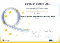 OŠ don Lovre Katića pobrala brojne Nacionalne i Europske oznake kvalitete za projekte na eTwinning platformi