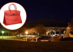 Pronađena torbica na parkingu ispred Inine zgrade