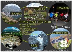 Trail i treking klub Strka u 2018. organizira 4. Strka trail ligu