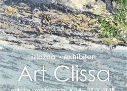 Izložba Likovne udruge Art Clissa u Solinu