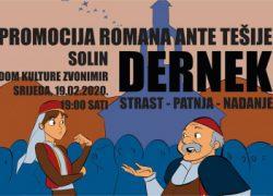 """Promocija romana """"Dernek"""" Ante Tešije"""
