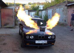 """Rus ugradio mlazni pogon iz MiG-a 23 u BMW """"kockicu"""""""