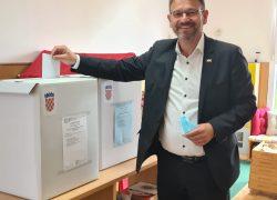 Dalibor Ninčević glasao u Solinu