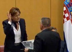 VIDEO Martina Dalić zbog Bulja izgubila živce, skoro ga udarila