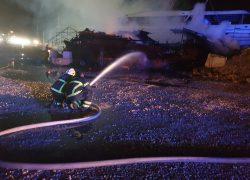 Požar u Vranjicu: Izgorio 20-metarski brod, čule se ekplozije