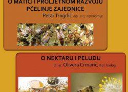 """OBAVIJEST Predavanje """"O matici i proljetnom razvoju pčelinje zajednice"""""""