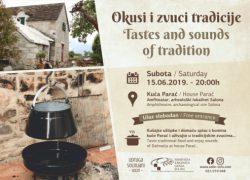 Okusi i zvuci tradicije u kući Parać