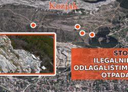 """""""PLANINA KOZJAK"""": Molim vladajuće Solina da me sačuvaju od ilegalnih odlagališta otpada"""