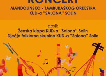 Koncert orkestra KUD-a Salona u Teatrinu
