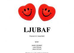 Predstava Ljubaf u Teatrinu Gradske knjižnice