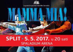 "Mjuzikl ""Mamma Mia"" 5. svibnja u Spaladium Areni"