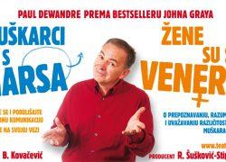 """Besplatna predstava u Mravincima: """"Muškarci su s Marsa, žene su s Venere"""""""