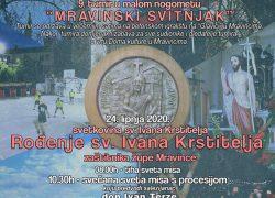 Program proslave sv. Ivana Krstitelja, dana mjesta Mravince