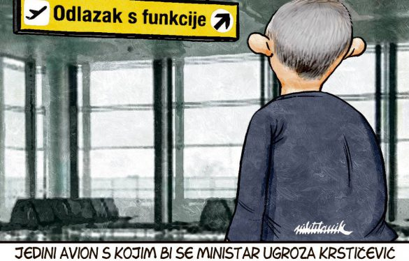 Ministar uskoro leti?