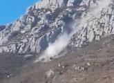 """VIDEO Iznad Kaštela se odronilo brdo, kamene gromade stvarale veliku buku: """"Treslo se kao da je potres"""""""